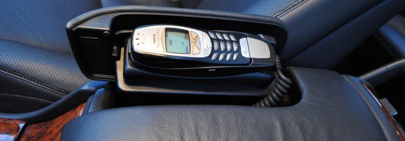 Mercedes-Benz S-sarjan puhelin