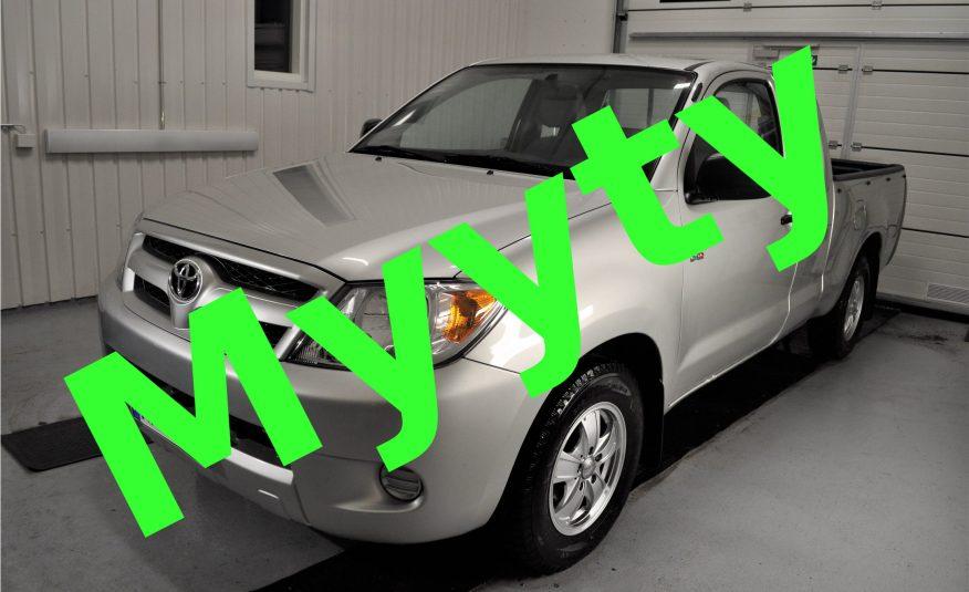 Toyota Hilux 2.5 D4D DLX Comfort Extra Cab *Kotiinkuljetus *1,9% korko *Siisti