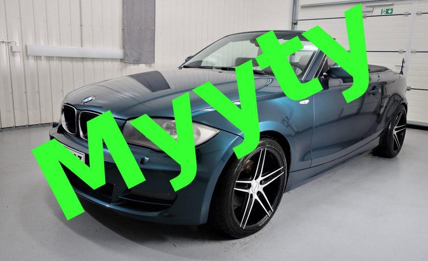 BMW 120 A E88 Cabrio