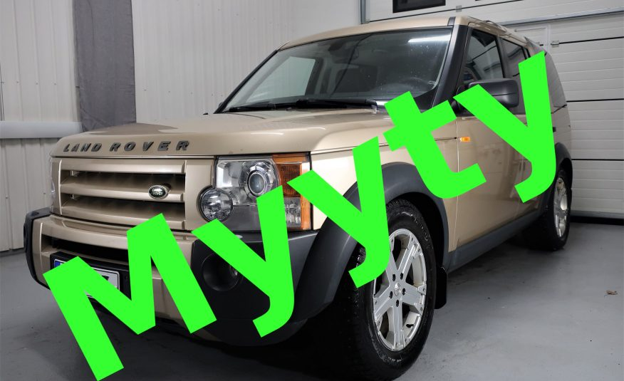 Land Rover Discovery 3 2,7 TDV6 SE Aut