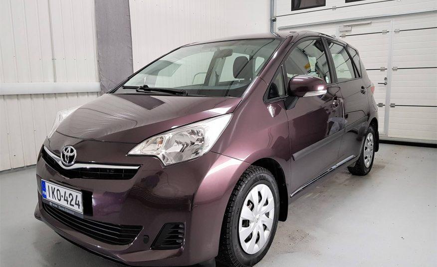 Toyota Verso-S 1,33 Dual VVT-i S & S Linea Sol (MY12) *Vain 42tkm! *Kotiinkuljetus *Rahoitus *Vaihto