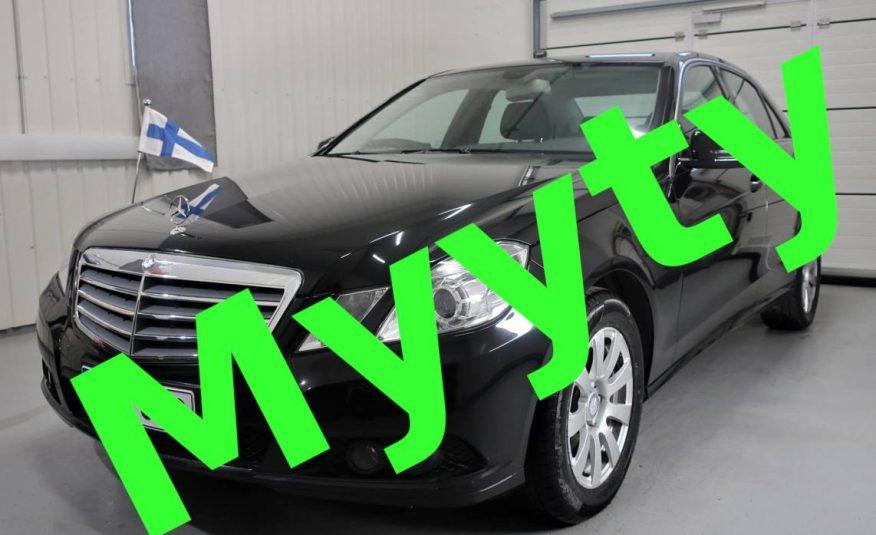 Mercedes-Benz E 220 CDI BE A Business *Vain 78tkm *Suomi-auto *Merkkihuoltokirja