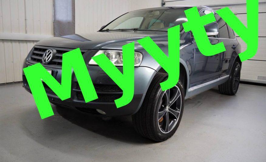 Volkswagen Touareg 5,0 V10 TDI *Suomiauto *2x hyvät renkaat *Nahkaverhoilu *Bi-Xenon