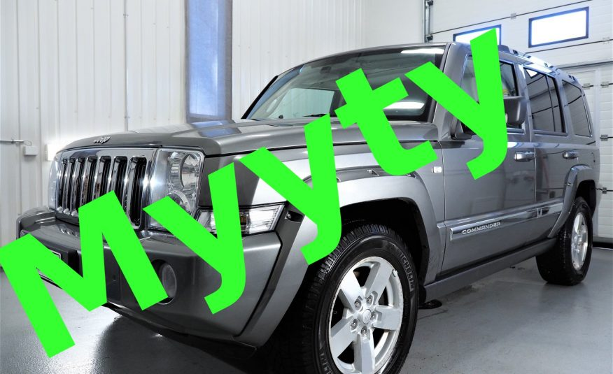 Jeep Commander 3.0 CRD Limited 5d A *7-paikkainen *Vain 105tkm *Varusteltu