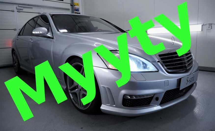 Myyty! Mercedes-Benz S 350 Lang AMG-Styling *VARUSTELTU *Pidennetty malli *Nappanahat *Distronic Plus