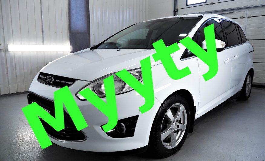 Ford C-MAX Grand 1.6 TDCi 115 Titanium *Varusteltu *Suomi-auto