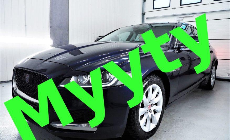 Jaguar XF 20d Portfolio Aut *Uusi korimalli *Varusteltu *Kattoluukku *Nahat