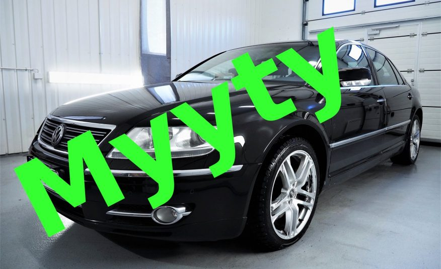 Volkswagen Phaeton 3.0 V6 TDI 4Motion Tiptronic *Edustusauto *Neliveto
