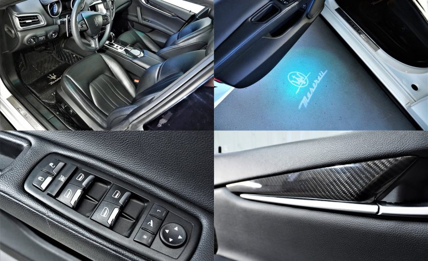 Maserati Ghibli 3.0 D 275hv *Näyttävä *Varusteltu *Vaihto *Rahoitus