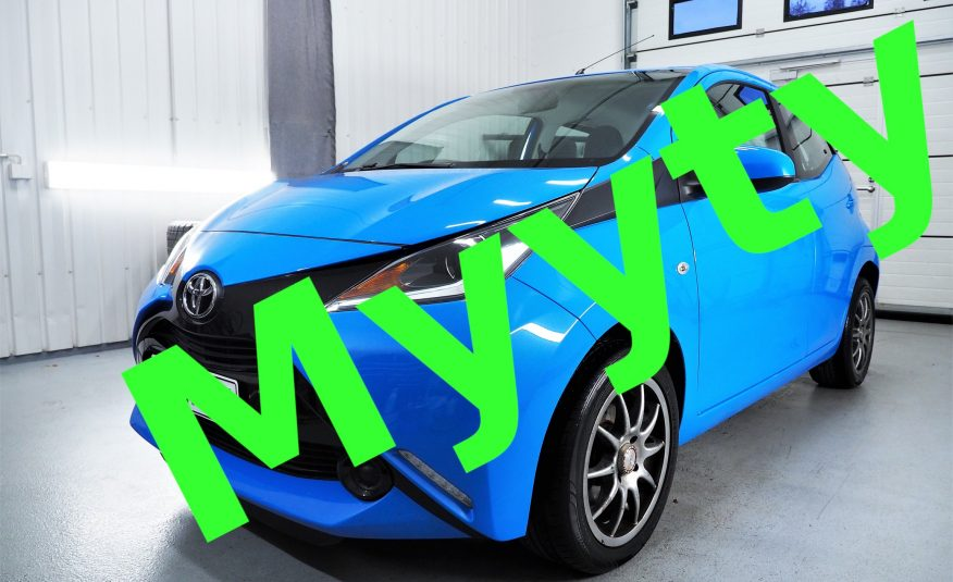 Toyota Aygo 1,0 VVT-i 5ov x-play *Juuri tullut *Vähän ajettu *Siisti *Vaihto *Rahoitus