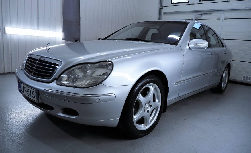 Myyty! Mercedes-Benz S 430 4d A