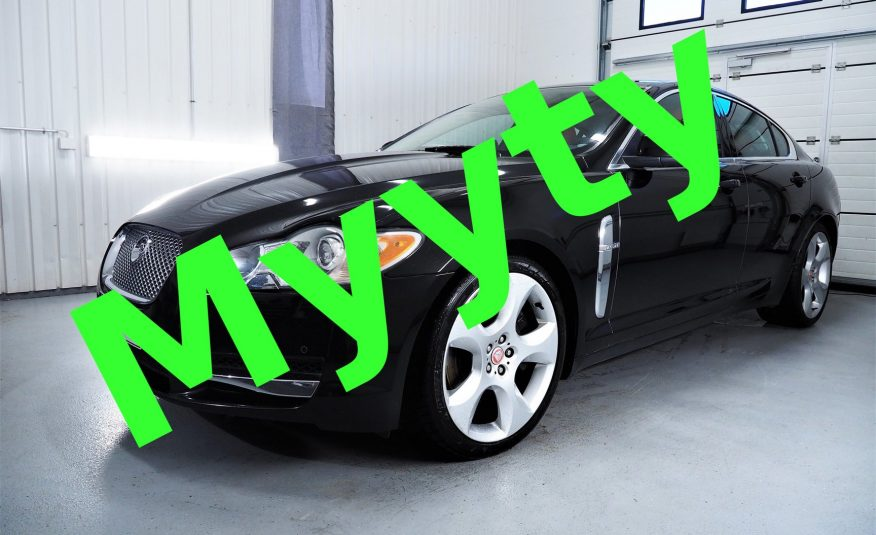 Jaguar XF 4.2 SV8 SuperCharged V8 416Hv *Lippulaivamalli *VARUSTELTU