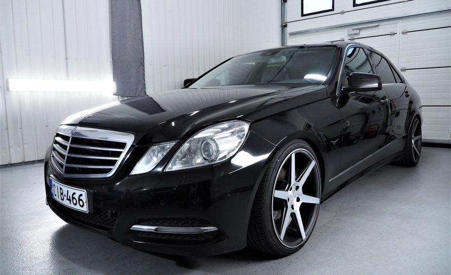 Myyty! Mercedes-Benz E 200 CDI Avantgarde *Tulossa *Varusteltu *Vaihto *Rahoitus